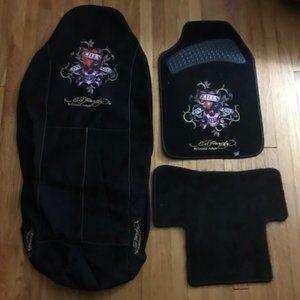 Ed Hardy Seat Covers and Foot Mats